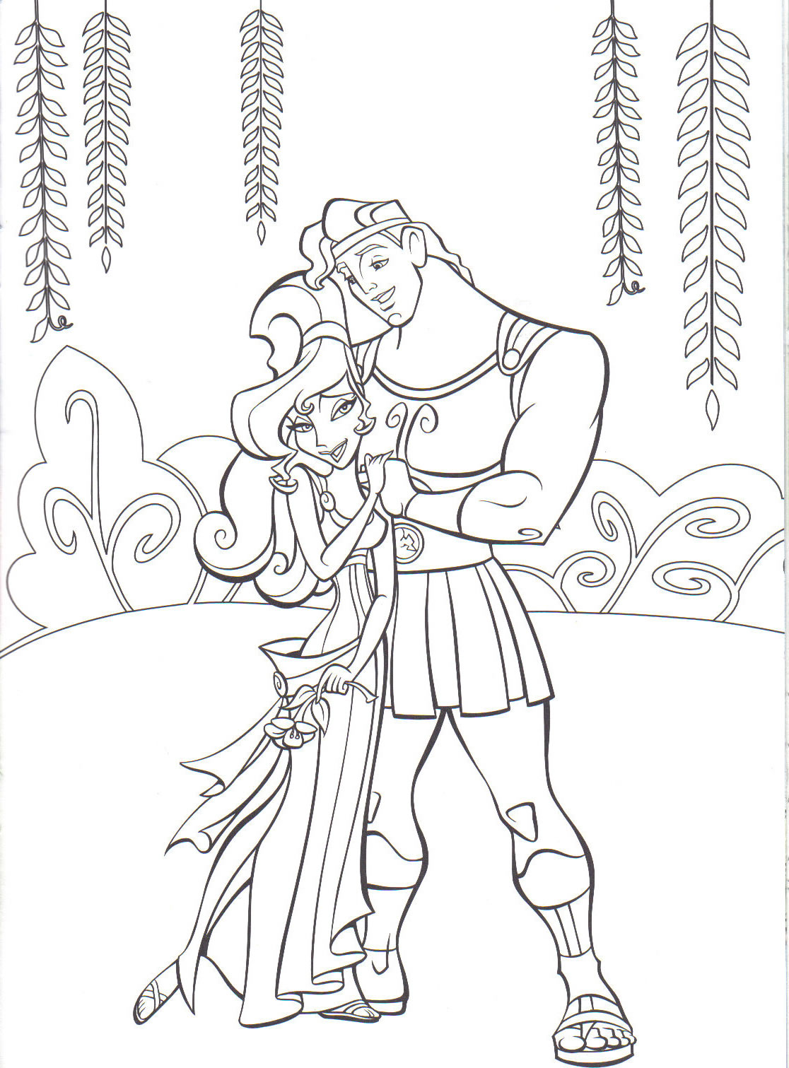 Hercules to download - Hercules Kids Coloring Pages