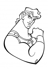 Coloring page hercules to download