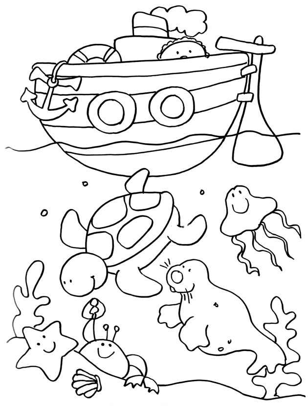Free Holidays coloring page to print and color, for kids