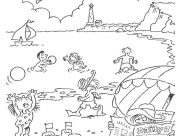Holidays Coloring Pages for Kids