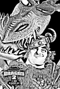 Coloring page how to train your dragon 2 to print