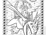 How to Train Your Dragon 3 Coloring Pages for Kids