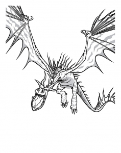 Coloring page how to train your dragon free to color for kids