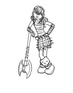 Coloring page how to train your dragon to download