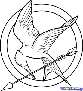 Coloring page hunger games to download for free