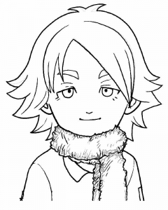 Coloring page inazuma eleven free to color for children