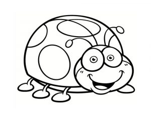 Coloring page insects to download for free