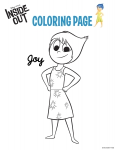 Coloring page inside out to download