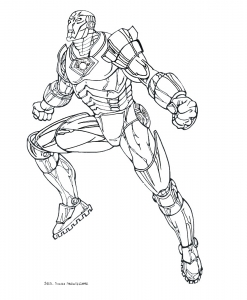 iron man - free printable coloring pages for kids
