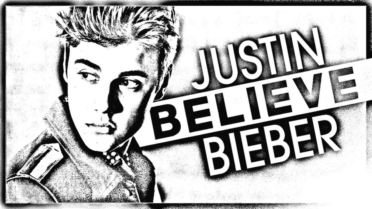 Free Justin Bieber coloring page to print and color