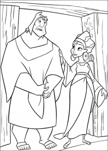 Coloring page kuzco to download for free