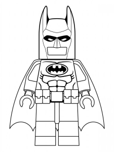 Coloring page lego batman to print
