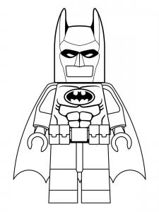 Coloring page lego batman to print