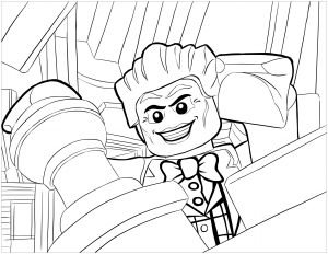 Coloring page lego batman free to color for kids