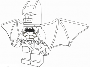 Coloring page lego batman to download