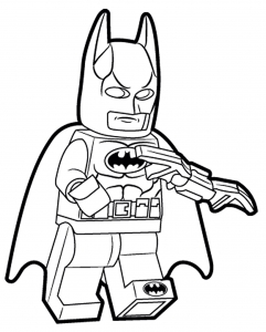 Coloring page lego batman to print for free
