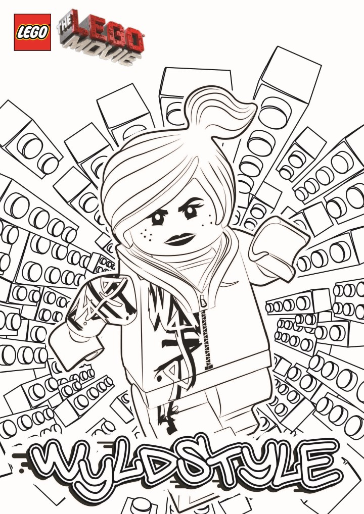 Lego the Big Adventure coloring page to download for free