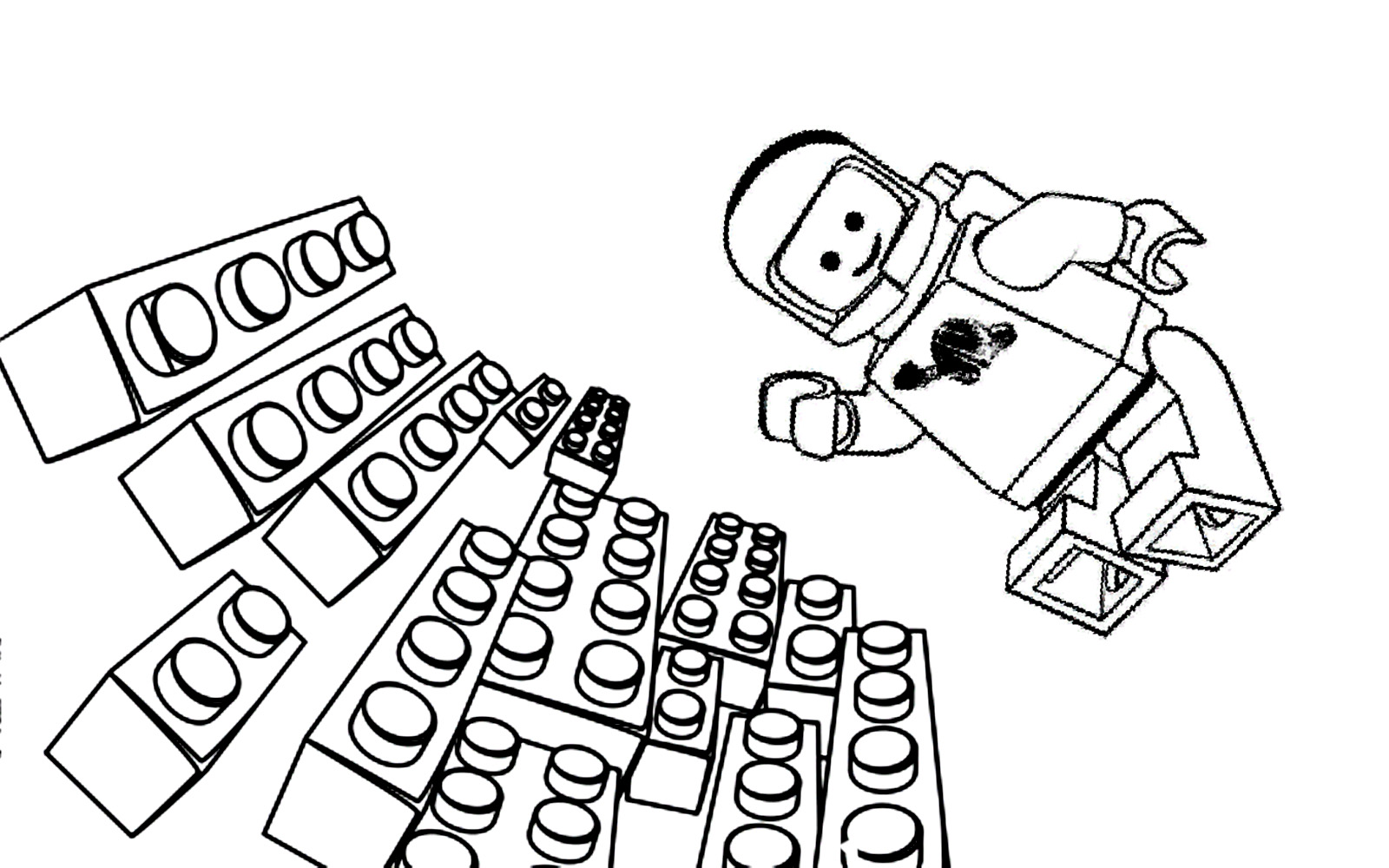 Cute Free Lego The Big Adventure Coloring Page To Download