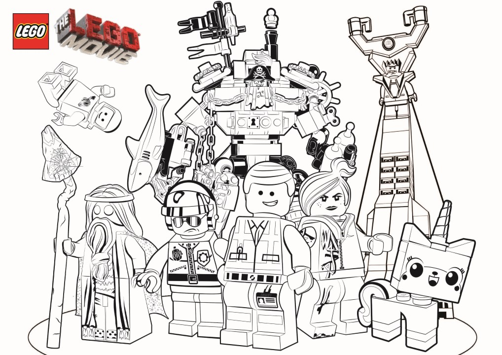 Lego The Big Adventure Free To Color For Kids Lego The Big