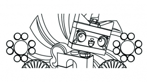 Coloring page lego the big adventure free to color for children