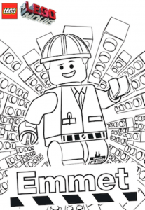 Coloring page lego the big adventure to download