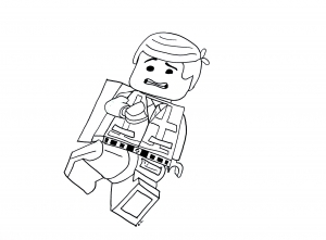 Coloring page lego the big adventure free to color for kids