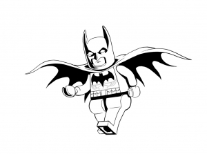 Coloring page lego the big adventure to color for kids