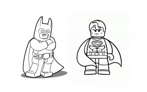 Coloring page lego the big adventure to print