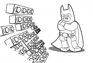Coloring page lego the big adventure to print for free