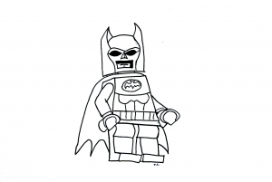 Coloring page legos to print for free