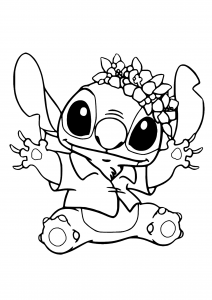 Coloring page lilo and stich to download for free
