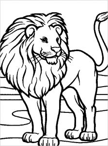 Lion Free Printable Coloring Pages For Kids Available for download and commercial use. lion free printable coloring pages