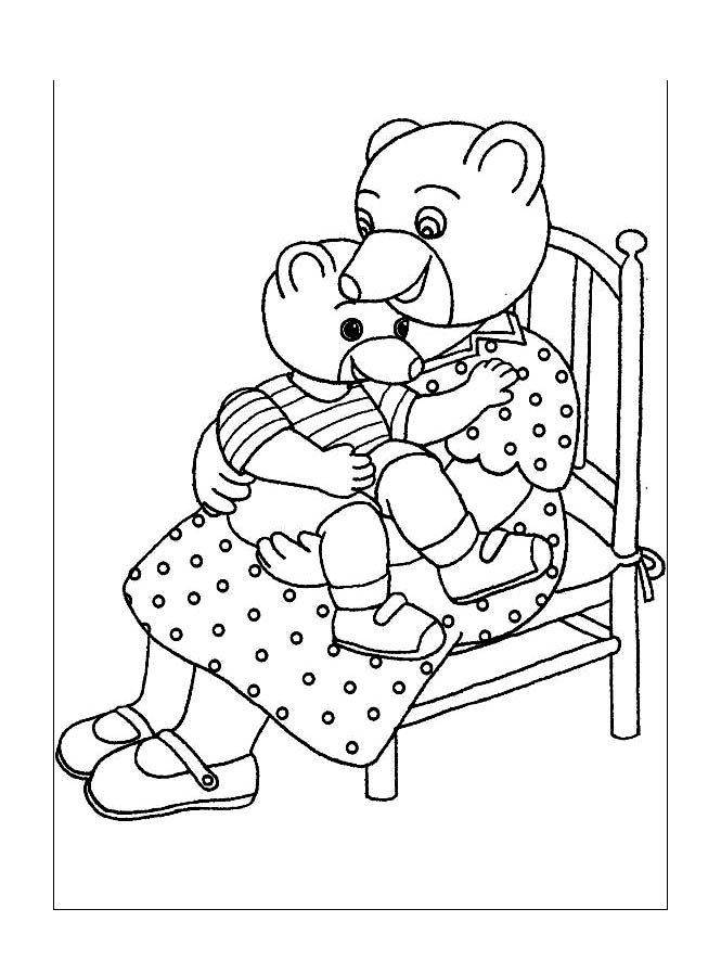 Little brown bear to print for free Little Brown Bear