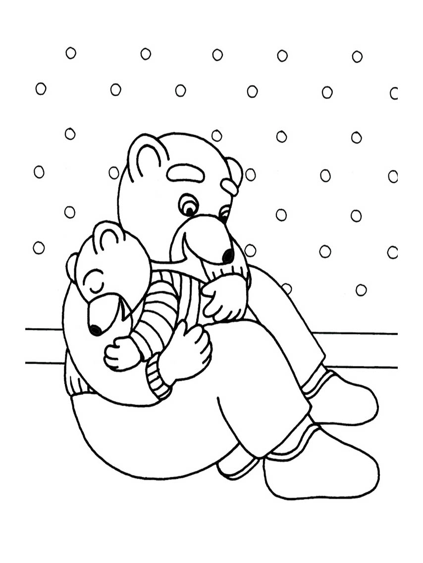 - Little Brown Bear To Print - Little Brown Bear Kids Coloring Pages