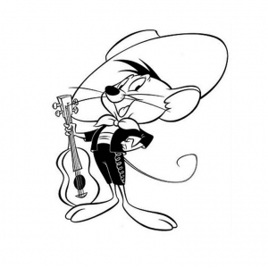Coloring page looney tunes to download