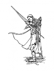 Coloring page lord of the ring to download