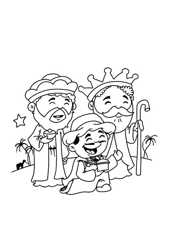 Magi coloring page to download for free
