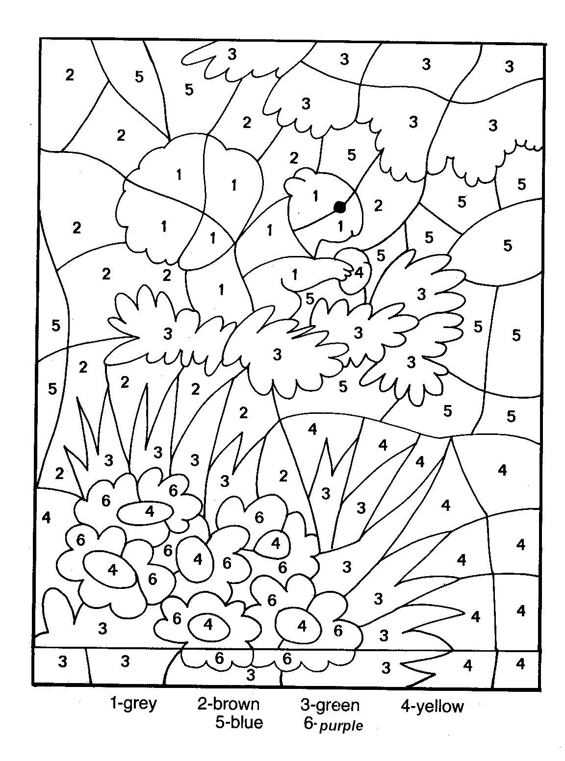 simple magic coloring coloring page to download for free