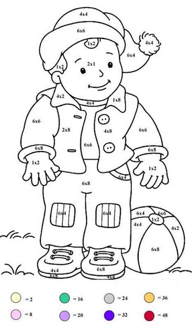 Magic for kids - Magic Coloring - Coloring pages for kids