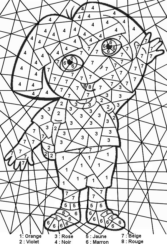 few and many coloring pages - photo#29