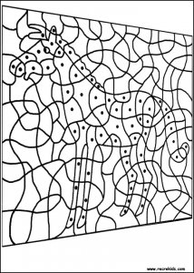 Coloring page magic coloring to print