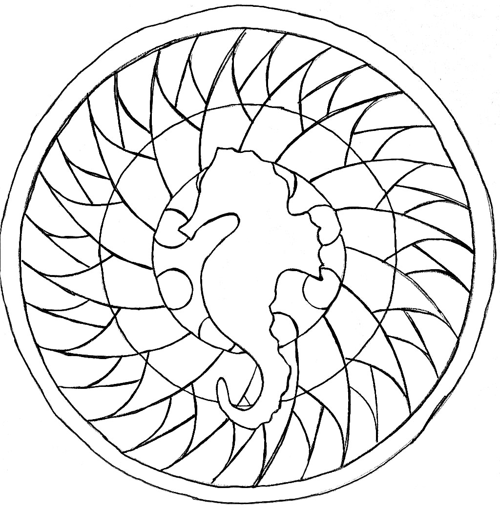 Mandalas to color for kids - Mandalas - Coloring pages for kids