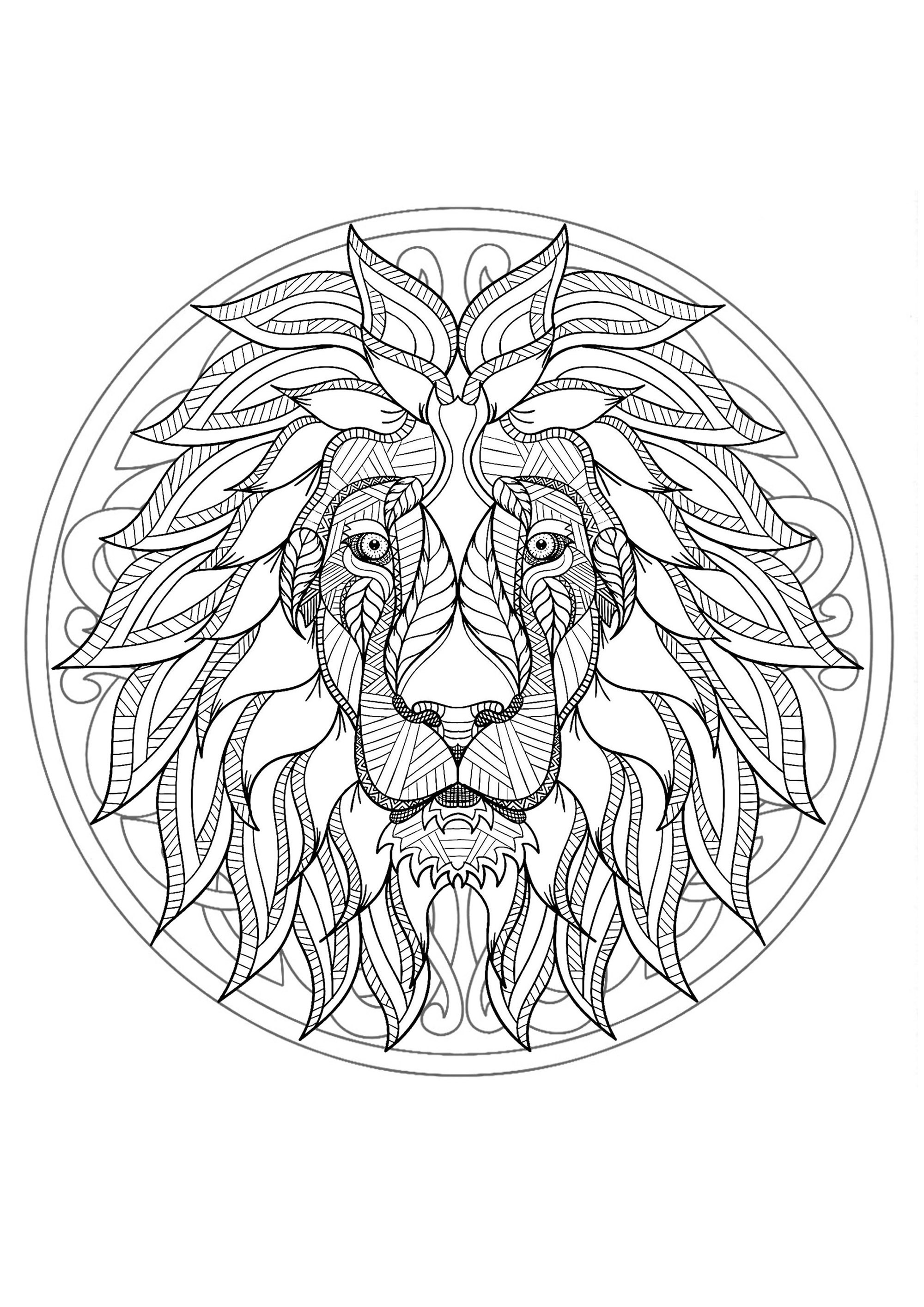 Mandalas Kids Coloring Pages