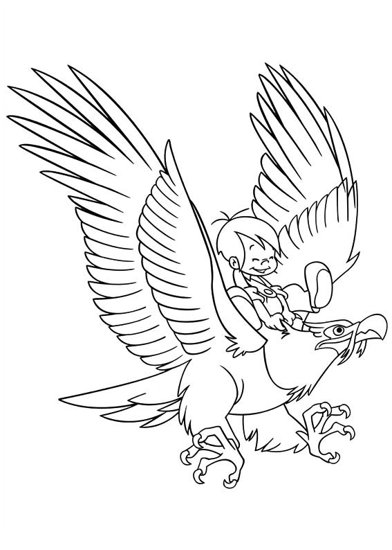 Beautiful Marcelino coloring page to print and color