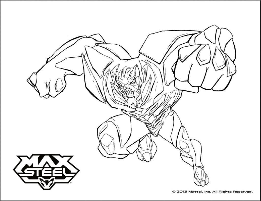 Max steel to print Max Steel