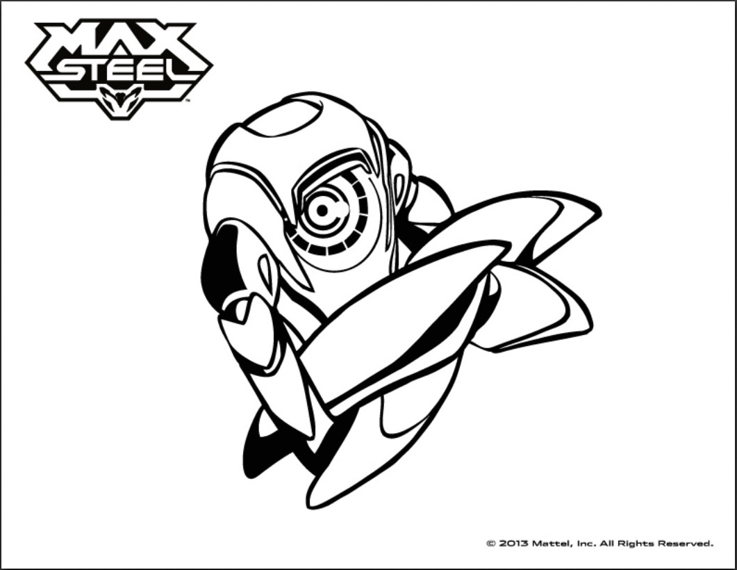 max steel coloring pages Max steel to print   Max Steel Kids Coloring Pages max steel coloring pages
