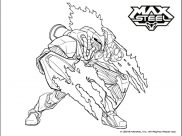 Max Steel Coloring Pages for Kids