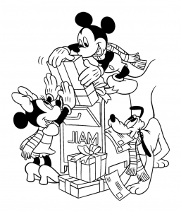 Mickey And His Friends Free Printable Coloring Pages For Kids