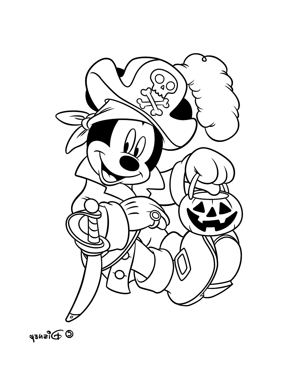 Mickey to print for free - Mickey Kids Coloring Pages