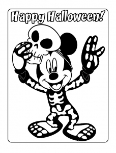Coloring page mickey to print